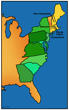 Colonial New England Colonies